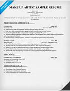 Make Up Artist Resume Sample Resume Companion Top 8 Senior Beauty Therapist Resume Samples Manager Barber Or Beauty Shop Resume Professional Cosmetology Instructor Templates To Showcase Your Talent