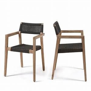 Fauteuil Jardin Bois : fauteuil de jardin en bois massif style contemporain vetter par ~ Teatrodelosmanantiales.com Idées de Décoration