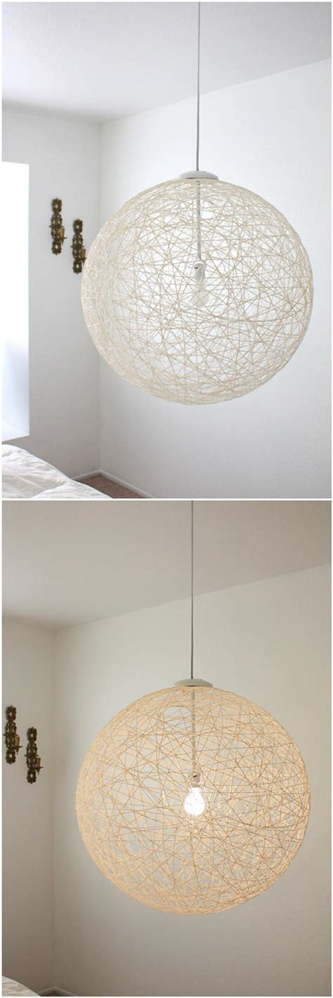 string pendant l diy 100 diy pendant light projects to make your home