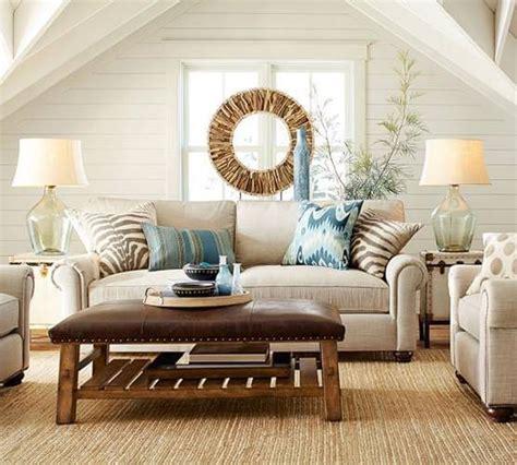 Pottery Barn Inspired by Pottery Barn Inspired Living Room For Less A Few Shortcuts
