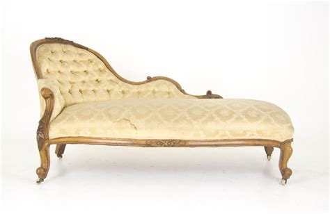 Chaise Settee Lounge by Antique Chaise Lounge Settee Walnut Scotland
