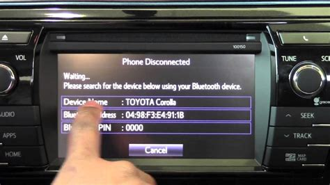 Brookdale Toyota by 2014 Toyota Corolla Connect Android Phone How To By