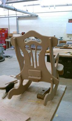 cnc router diy rocking chair woodworking