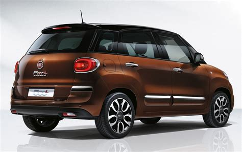 Fiat 500l Mpv Gets Subtle Facelift  New Looks, Tech Image