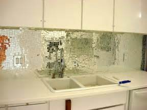 mirrored kitchen backsplash glam a splash
