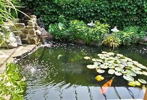 Kleiner Gartenteich Anlegen : gartenteiche an terrasse ~ Michelbontemps.com Haus und Dekorationen