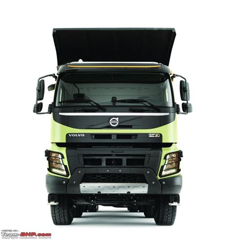 volvo truck range team bhp volvo launches new truck range in india