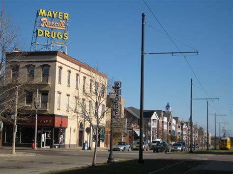 File:Kenosha WI Old Mayer Drugstore..jpg - Wikimedia Commons