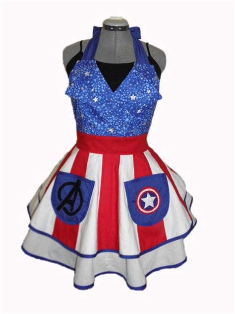 Girly Kitchen Aprons by Geeky Fandom Aprons