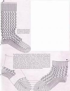 Crochet Sock  Diagram Only