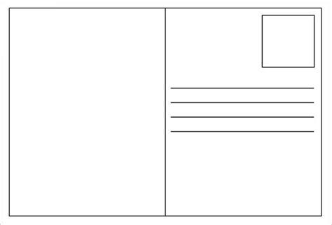 blank postcard templates psd vector eps ai