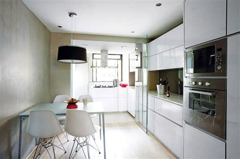 Gorgeous open concept kitchens for small HDB flats!   Home