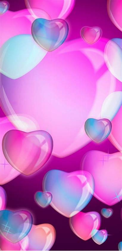 Heart Iphone Phone Pink Backgrounds Wallpapers Background