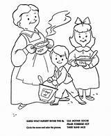 Porridge Coloring Nursery Rhymes Pease Pages Goose Mother Quiz Sheets Bluebonkers Rhyme Printable Unisex Baby Fun sketch template