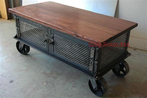 vintage industrial coffee table industrial furniture