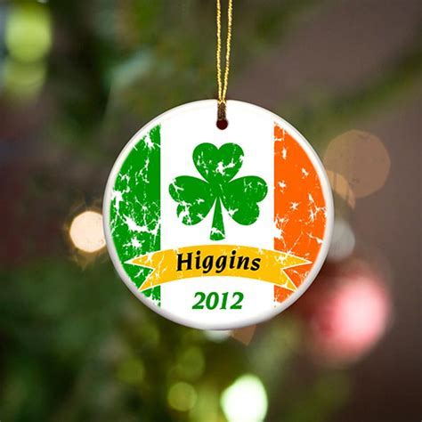 Irish Christmas   Personalized Irish Ornaments   Irish