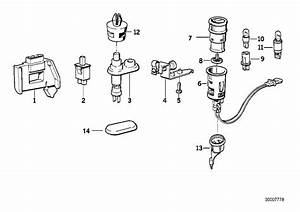 1992 Bmw 740i Bulb Socket  Various  System  Electrical