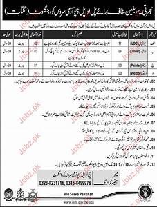 POL Depot Army Service Core Jaglot Gilgit Jobs 2017 2018 ...