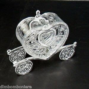 carrozza sposi bomboniere segnaposti scatolina carrozza sposi nozze cuore