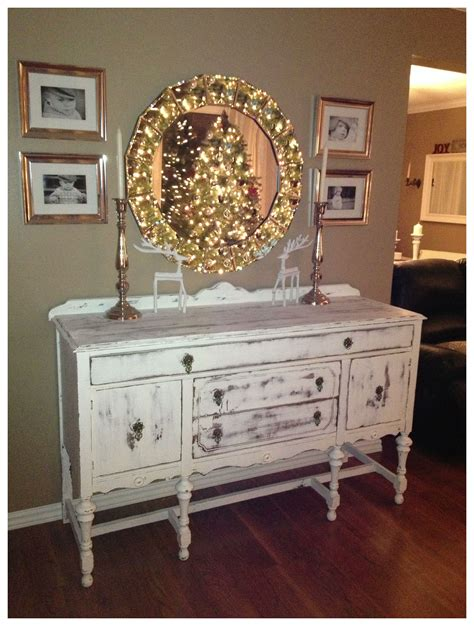 shabby chic buffet table antique buffet table shabby chic love home pinterest