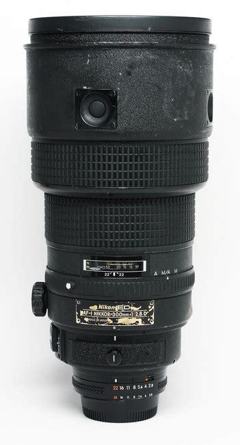 the nikon af i nikkor 300 mm f 2 8 d if ed lens specs