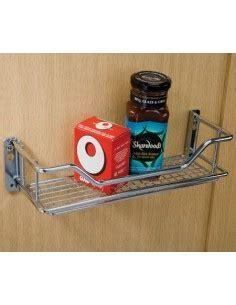 Two tier strorage rack for panels or kitchen door fixing