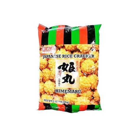 ustensiles de cuisine japonaise crackers au riz himemaru 98g mon panier d 39 asie épicerie