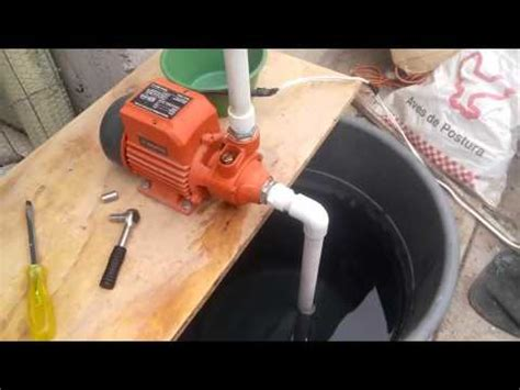 bomba de agua adaptacion youtube