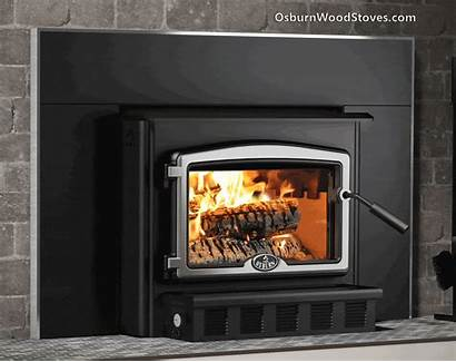 Insert Osburn 2000 Wood Fireplace Heat Chimney