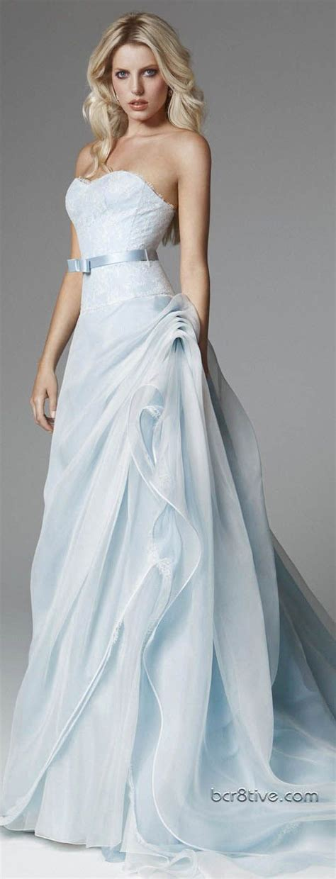 wedding inspiration pale blue wedding dresses