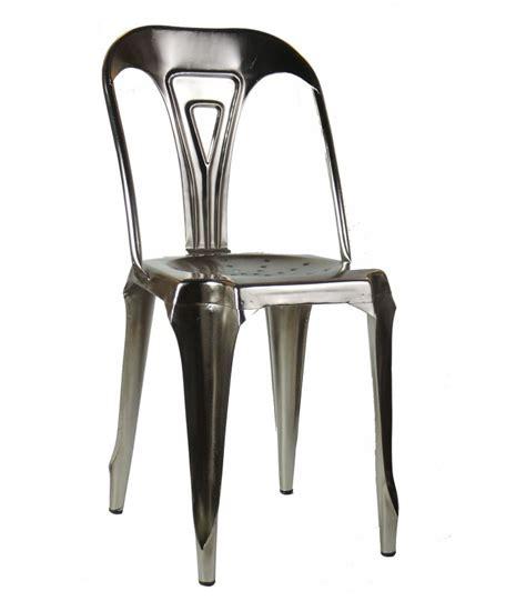 chaise métal industriel chaises metal industriel table de lit