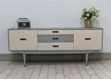 Vintage Painted Retro Sideboard By Distressed But Not