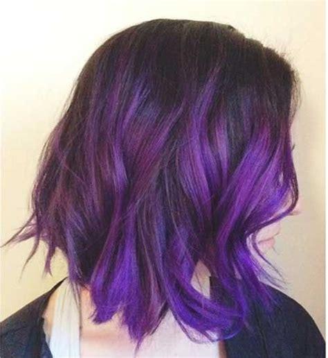 best 25 purple bob ideas on pinterest short purple hair