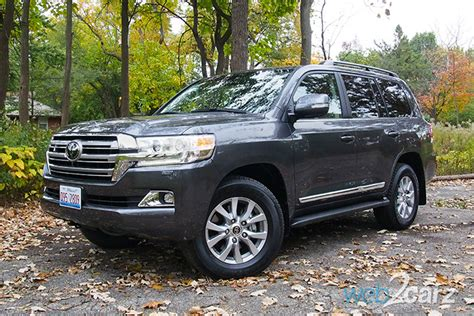 2017 Toyota Land Cruiser Review