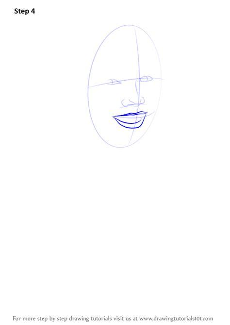 learn   draw heidi klum female models step  step