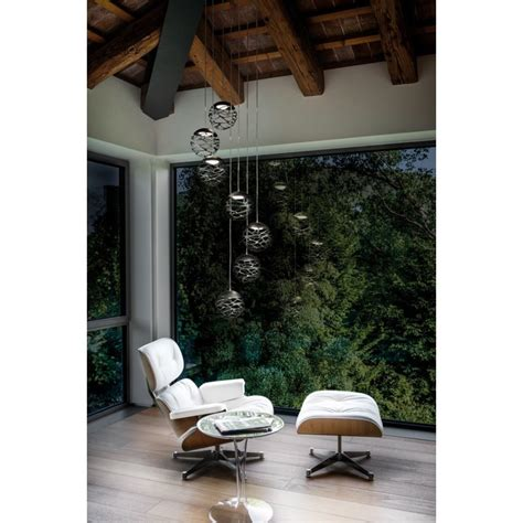 studio italia design kelly cluster suspension led design