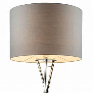 Schirm Für Stehlampe : stehlampe f r ihren wohnraum mit textil schirm gustav lampen m bel r ume wohnzimmer ~ Frokenaadalensverden.com Haus und Dekorationen