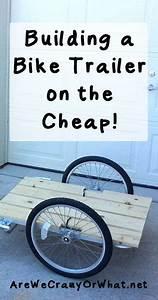 Fahrradanhänger Kupplung Selber Bauen : building a bike trailer on the cheap geb ude fahrr der und camping anh nger ~ Yasmunasinghe.com Haus und Dekorationen