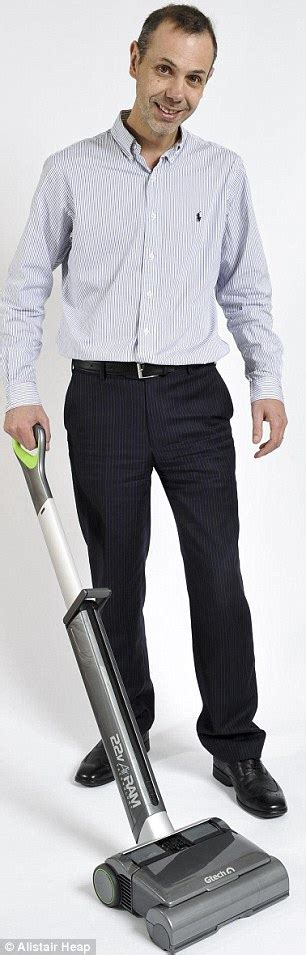 Nick Grey created Gtech vacuum that compresses dirt into ...