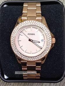 Retro Uhr Damen : fossil damen uhr armbanduhr edelstahl ros zirkonia retro traveler am4454 ~ Markanthonyermac.com Haus und Dekorationen