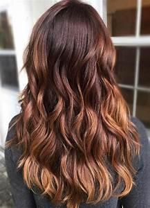 Ombré Hair Marron Caramel : ombr hair marron glac ~ Farleysfitness.com Idées de Décoration