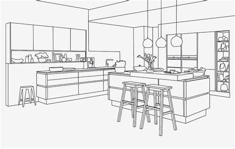 Kuche Zeichnung by Kitchen Competency Nobilia K 252 Chen