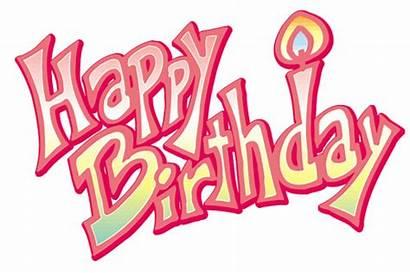 Birthday Happy Animated Glitter Text Cake Clipart