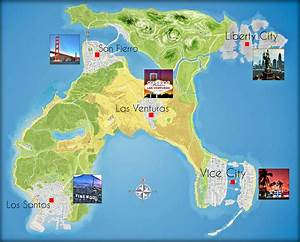 Grand Theft Auto 5 Map Locations Pictures to Pin on ...