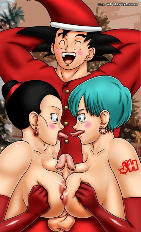 The Christmas Of Goku Animated By Piotix Hentai Foundry
