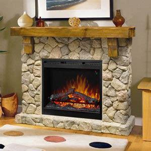 rustic electric fireplace dimplex fieldstone rustic electric fireplace mantel