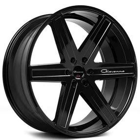 giovanna wheels dramuno  black rims gv