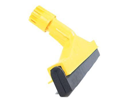 foam plastic floor squeegee 45cm 18 industrial yellow coloured plastic squeegee