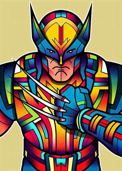 Behance Superheroes Orton Van Superhero Complex Wolverine