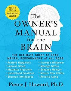 The Owner U0026 39 S Manual For The Brain  4th Edition   The